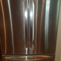 LG Stainless Steel Counter Depth French Door Refrigerator -still under warranty